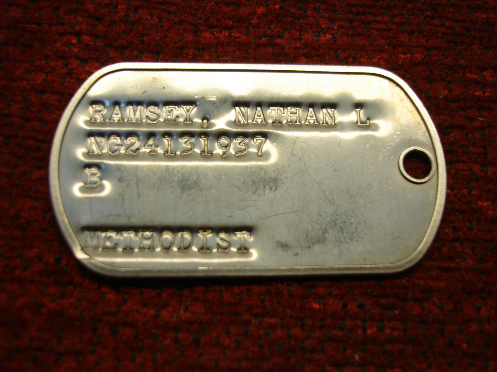 huge selection of b52e6 abc6f PHILADELPHIA EAGLES - NATHAN RAMSEY DOG TAG - NEAT ...