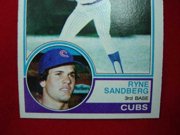 Ryne Sandberg Rc 83 1983 Topps Baseball Card Chicago Cubs