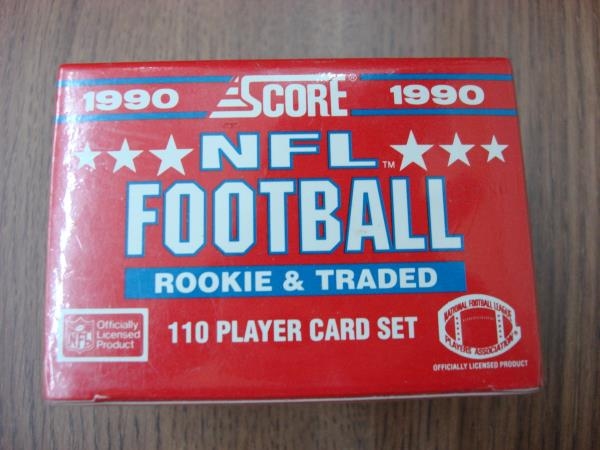 1990 Score Fb Rookie Traded Set Emmitt Smith Rookie